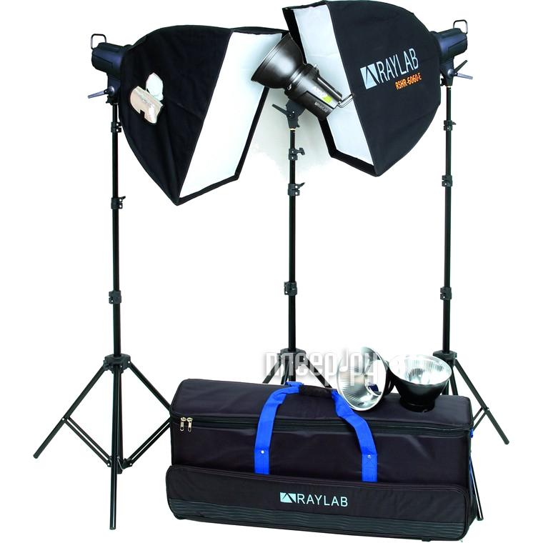Комплект студийного света Raylab Axio2 RX-200-3 SS Advance Kit  Pleer.ru  18147.000