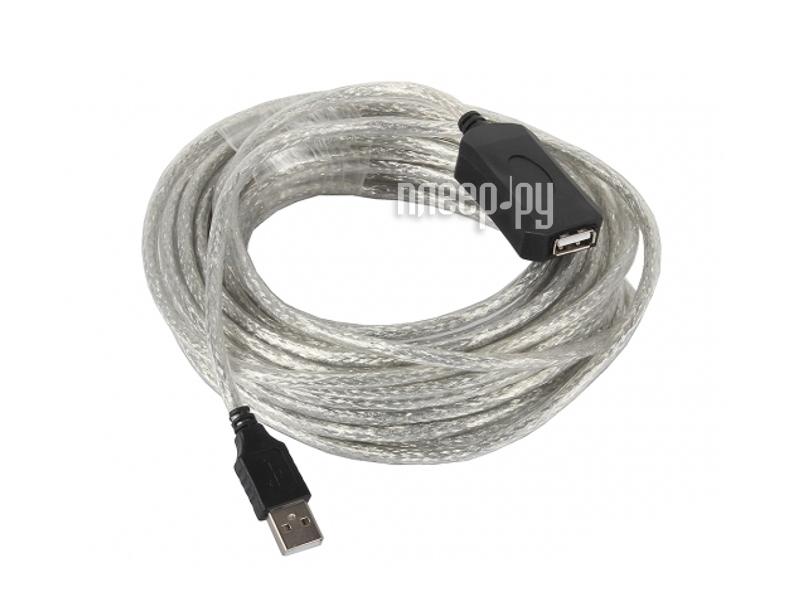 Аксессуар VCOM USB 2.0 AM-AF 15m VUS7049-15M