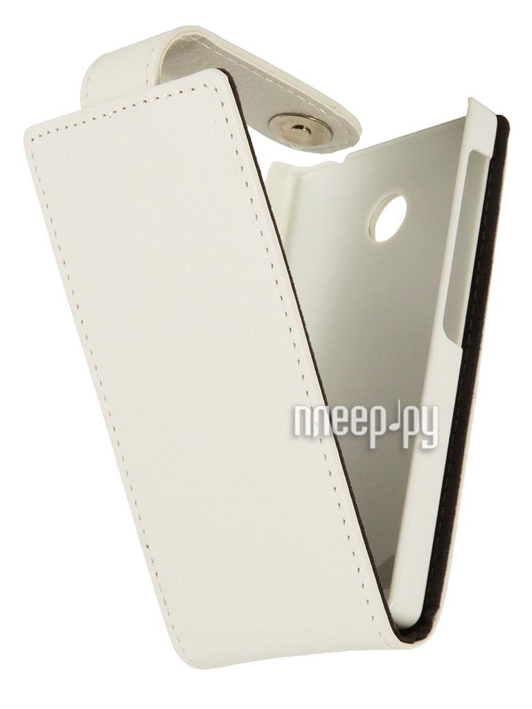 Аксессуар Чехол Nokia X / X+ iBox Classic White  Pleer.ru  939.000