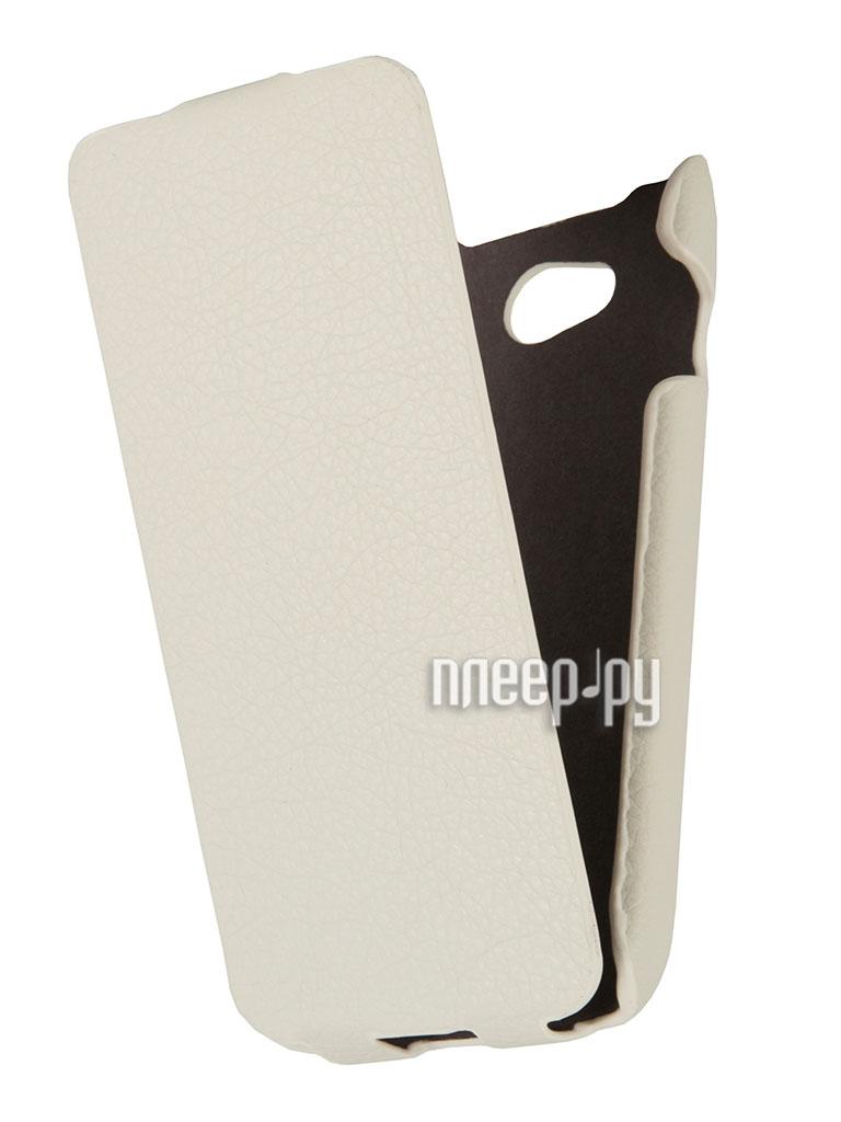 Аксессуар Чехол LG L90 D405 / D410 Dual Ainy/ iBox Premium White  Pleer.ru  1023.000