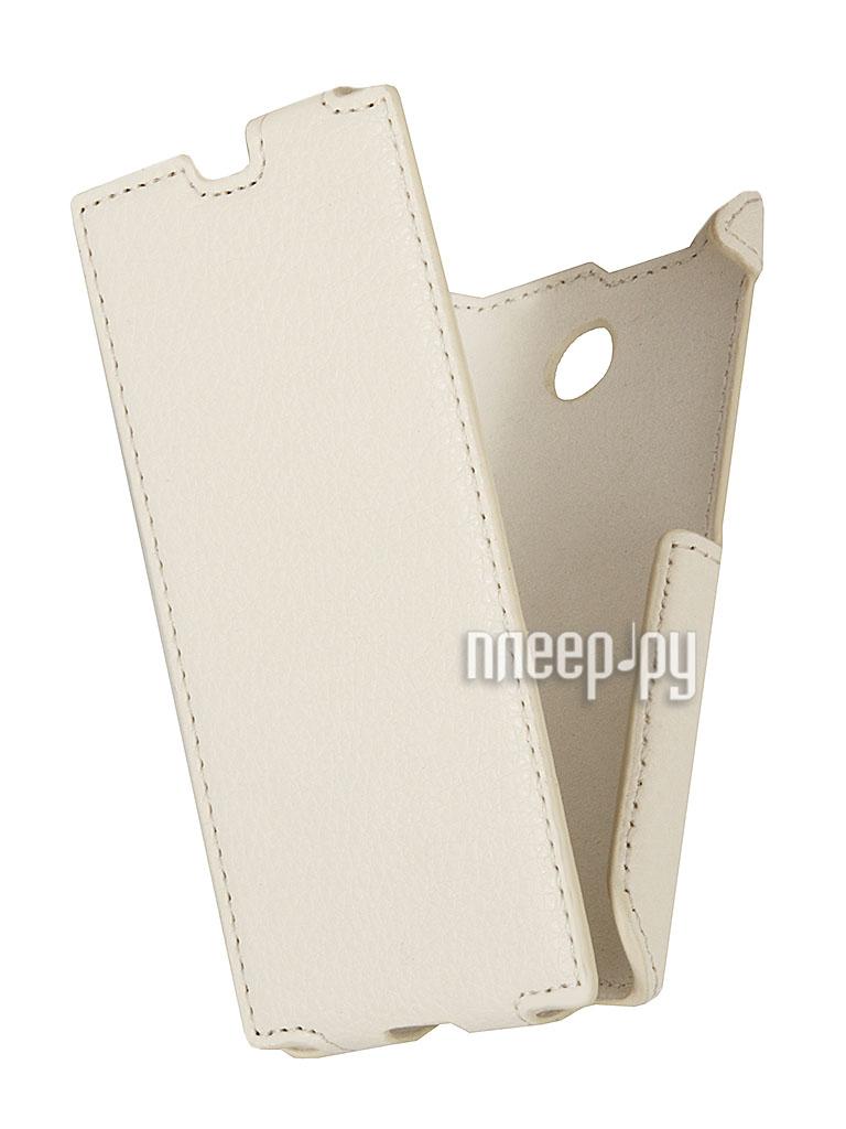 Аксессуар Чехол Nokia X / X+ iBox Premium White  Pleer.ru  1109.000
