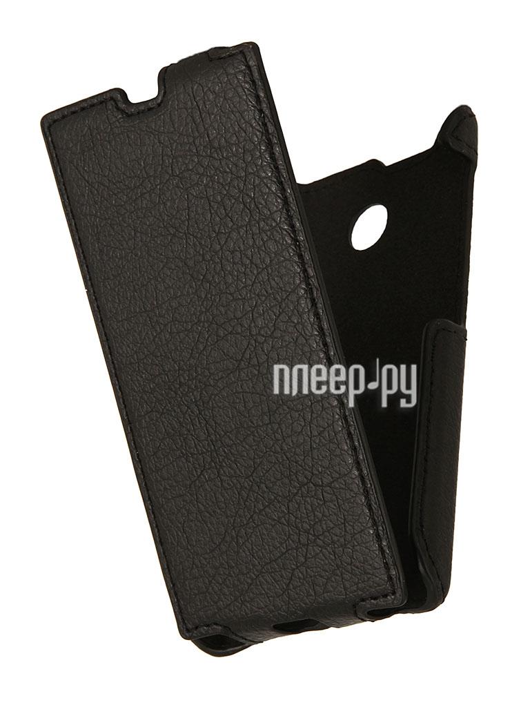 Аксессуар Чехол Nokia X / X+ iBox Premium Black  Pleer.ru  1109.000