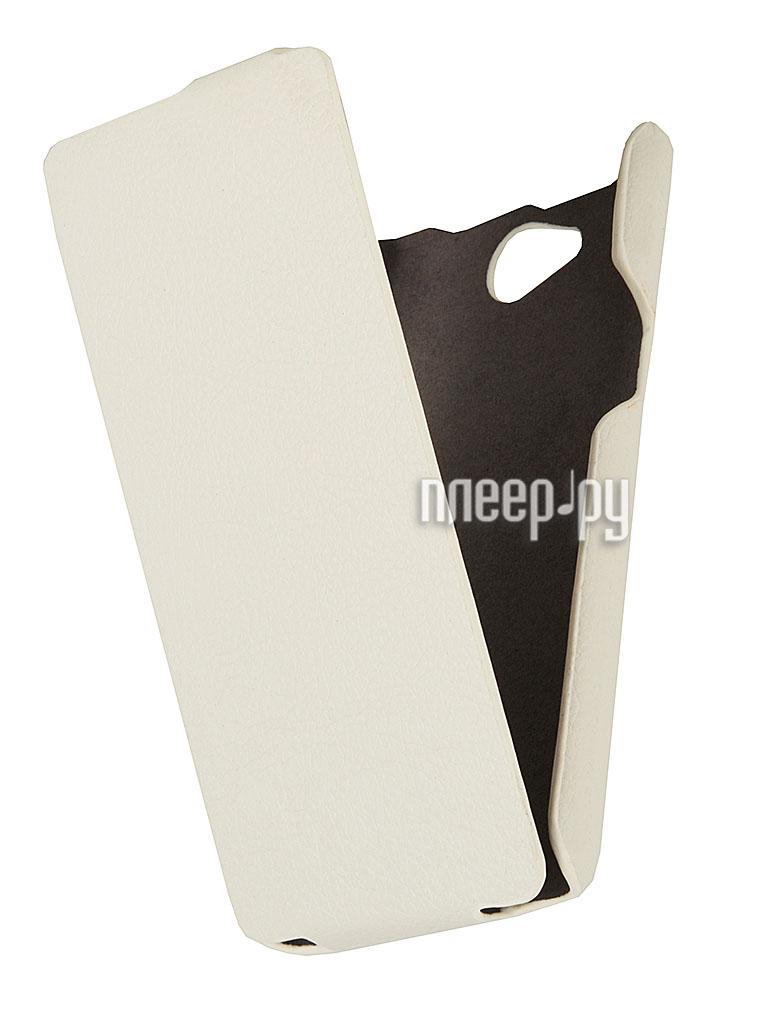 Аксессуар Чехол Philips W3500 iBox Premium White  Pleer.ru  1109.000