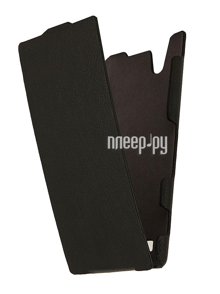 Аксессуар Чехол Sony Xperia T2 Ultra iBox Premium Black  Pleer.ru  1109.000