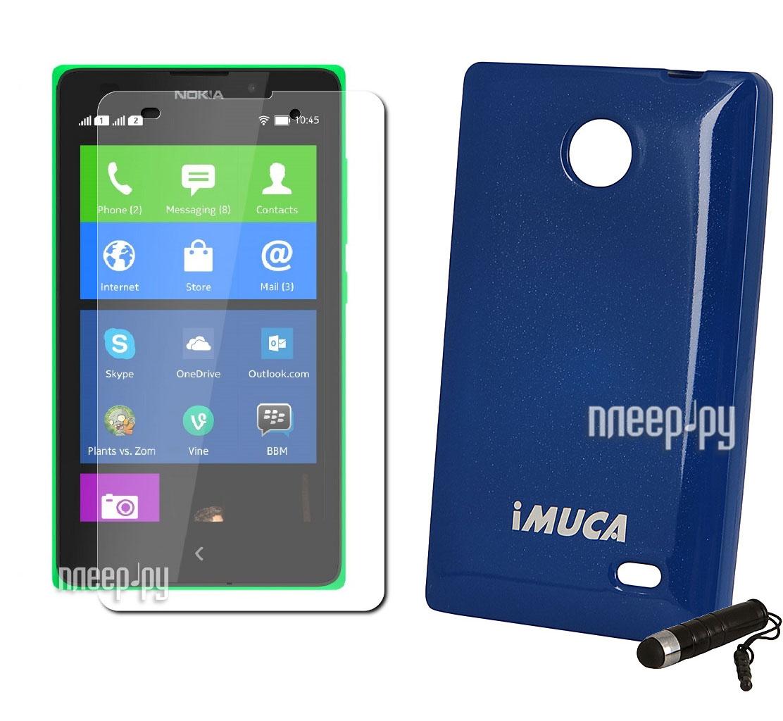 Аксессуар Чехол Nokia X / X+ Imuca  Pleer.ru  1021.000