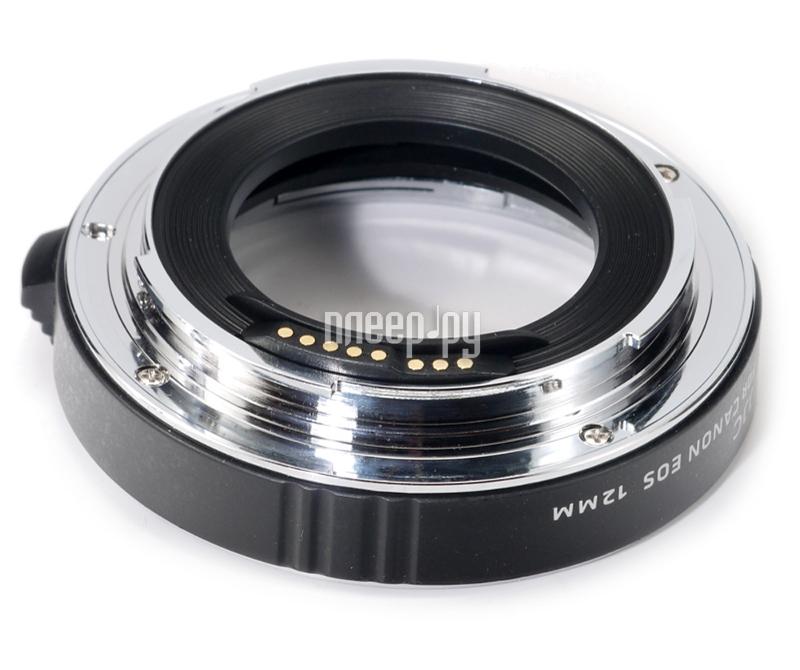 Удлинительное кольцо JJC AET-C12 for Canon EOS  Pleer.ru  1977.000
