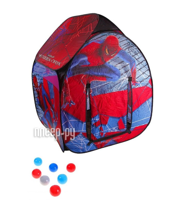 Палатка Marvel GT7126 Человек-паук  Pleer.ru  1221.000