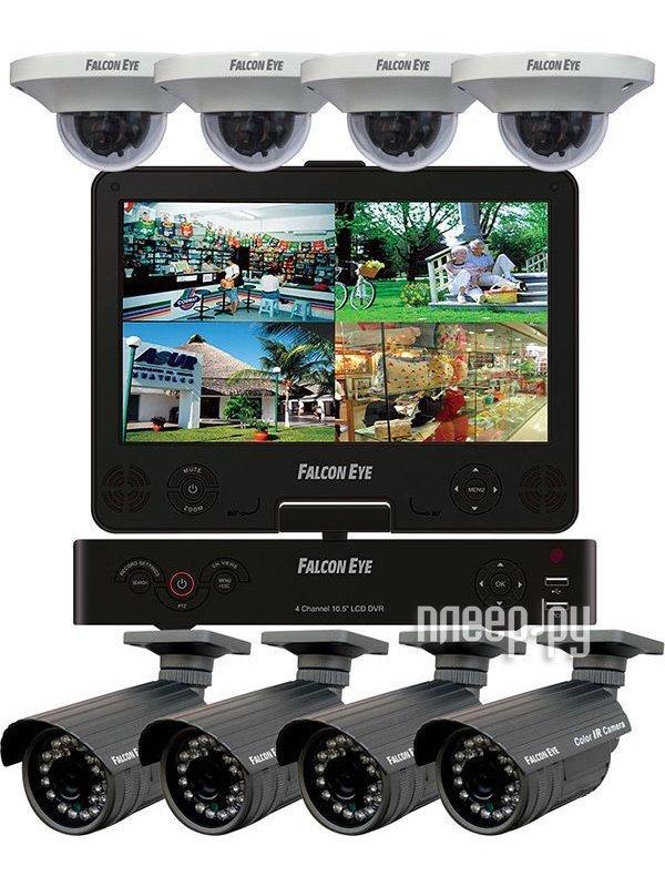 Видеорегистратор Falcon Eye Рубеж FE-1008L 10.1 LCD  Pleer.ru  27610.000