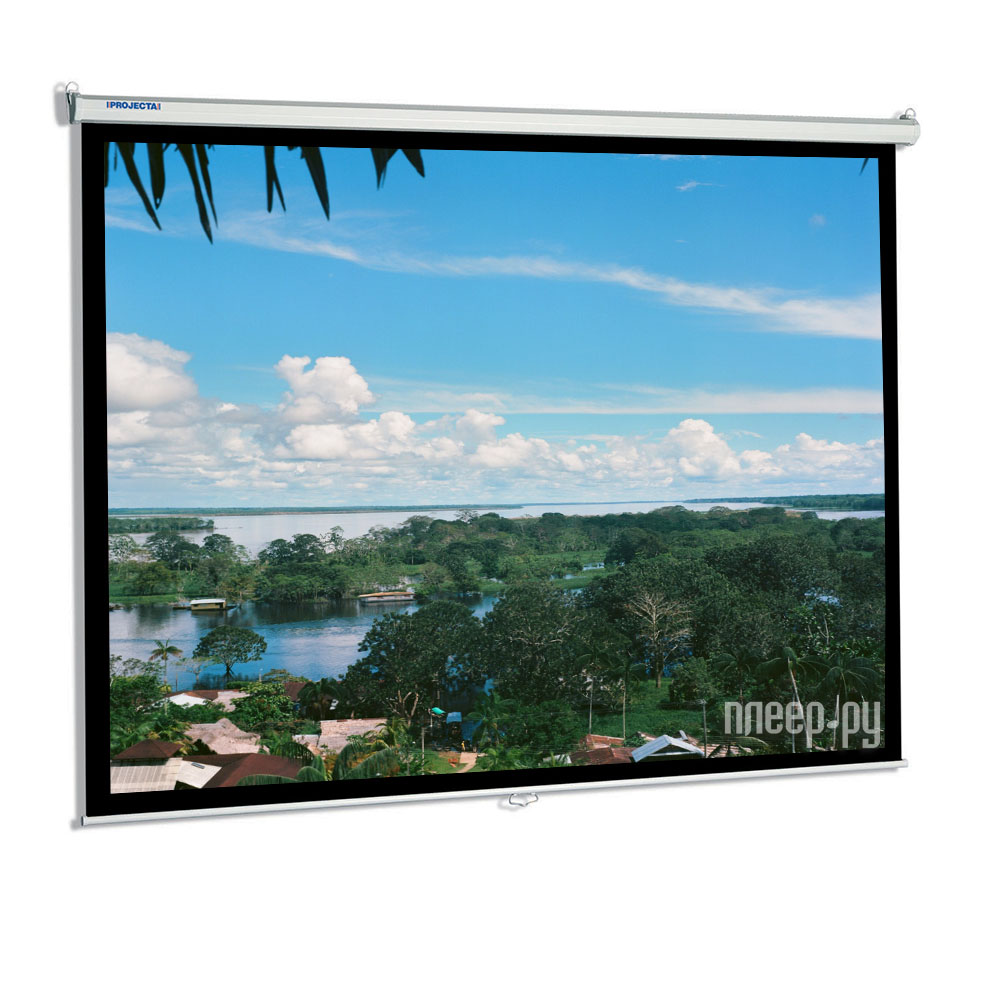 Экран Projecta SlimScreen 160x160cm Matte White настенный  Pleer.ru  3174.000