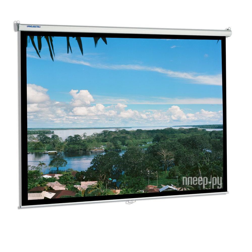 Экран Projecta SlimScreen 180x180cm Matte White настенный  Pleer.ru  2868.000