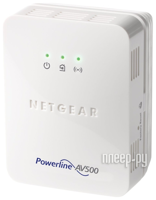 Powerline адаптер Netgear XWN5001-100PES Powerline AV500  Pleer.ru  3670.000