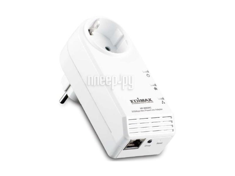 Powerline адаптер Edimax HP-2003AC  Pleer.ru  1640.000