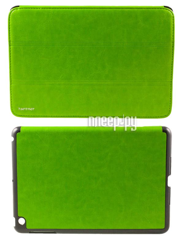 Аксессуар Чехол Partner SmartCover for iPad mini Green  Pleer.ru  1152.000