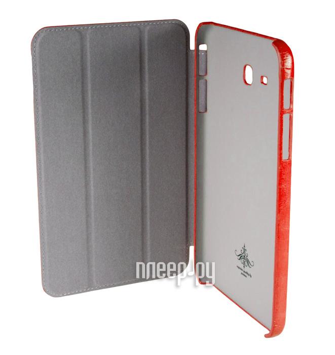 Аксессуар Чехол Samsung Galaxy Tab 3 7.0 Lite T110 Partner SmartCover Red  Pleer.ru  885.000
