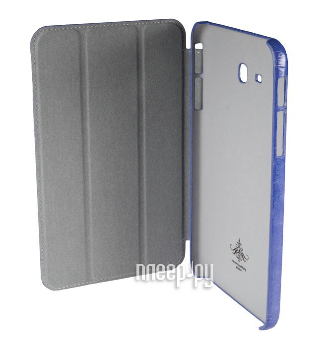 Аксессуар Чехол Samsung Galaxy Tab 3 7.0 Lite T110 Partner SmartCover Blue  Pleer.ru  885.000