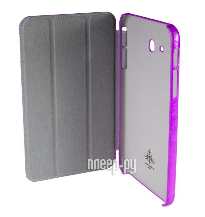 Аксессуар Чехол Samsung Galaxy Tab 3 7.0 Lite T110 Partner SmartCover Purple  Pleer.ru  885.000