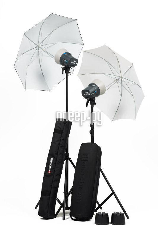 Комплект студийного света Elinchrom D-Lite RX ONE Umbrella Set 20844  Pleer.ru  20498.000