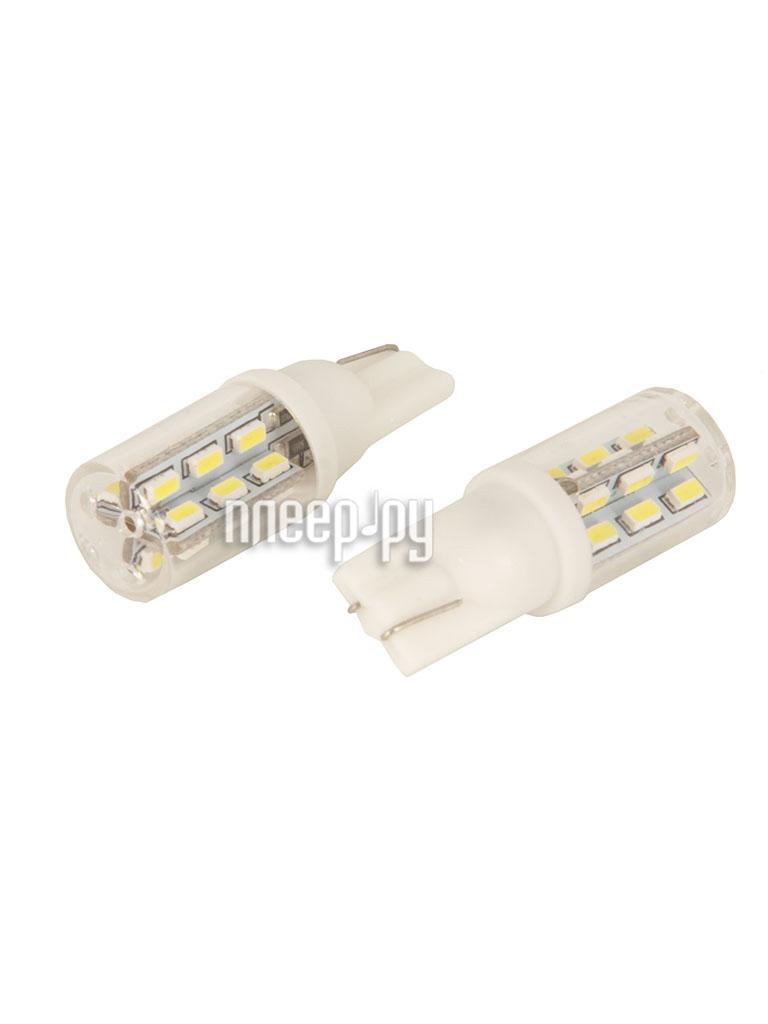 Светодиодная лампа Glare of Light Canbus T10 (W5W)-24-3014 SMD 1516 (2 штуки)  Pleer.ru  497.000