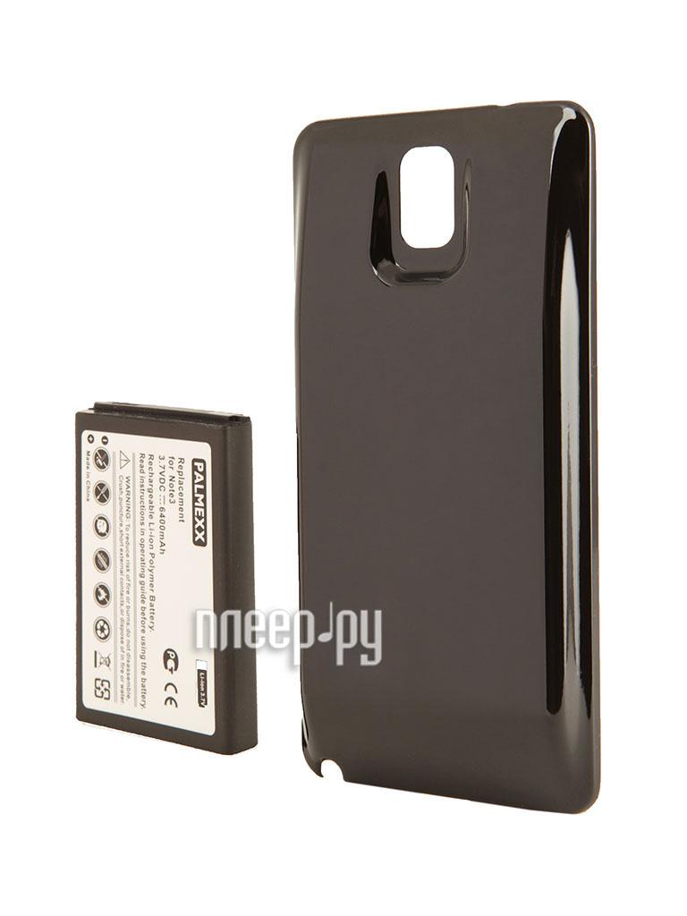 Аксессуар Аккумулятор Samsung GT-N9000 Galaxy Note 3 Palmexx - усиленный! 6400 mAh Black PX/SM NOTE3BL  Pleer.ru  1249.000