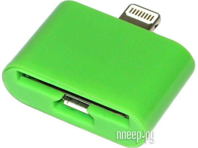 Аксессуар Prolife micro USB/iPhone 4 на iPhone 5 4063865 Green  Pleer.ru  589.000