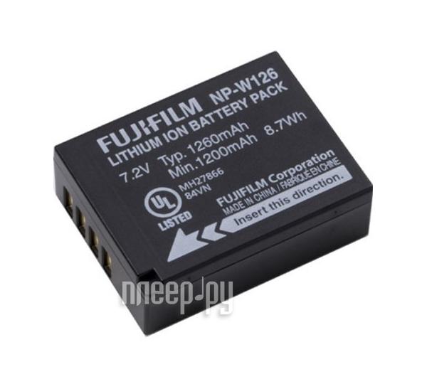 Аккумулятор FujiFilm NP-W126  Pleer.ru  1847.000
