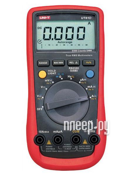 Мультиметр UNI-T UT61D  Pleer.ru  1798.000