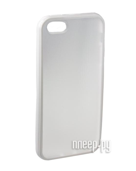 Аксессуар Чехол-бампер Partner for iPhone 5 / 5S White  Pleer.ru  115.000