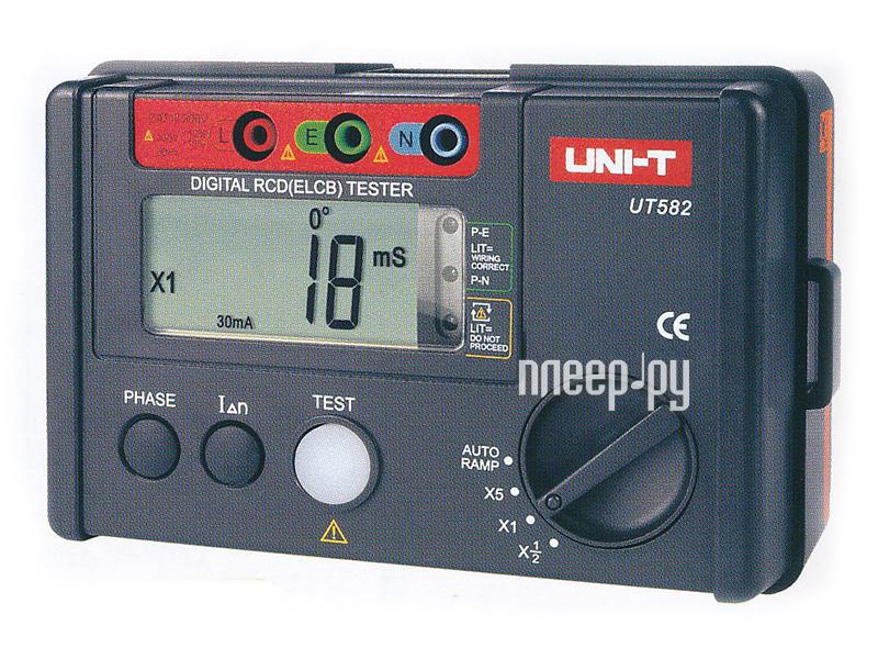 Мультиметр UNI-T UT582 измеритель УЗО  Pleer.ru  3418.000