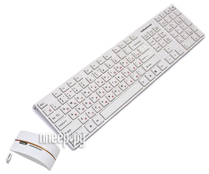 Набор Nakatomi KMRLN-2120U White USB