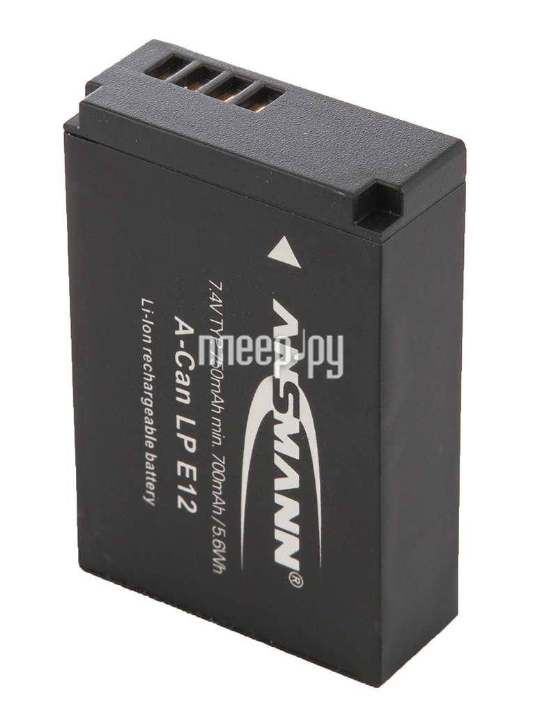 Аккумулятор Ansmann A-Can LP-E12 1400-0045 BL1  Pleer.ru  981.000