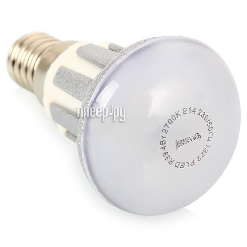 Лампочка Jazzway PLED-R39 4=30W 300Lm E14 230V (4000K)  Pleer.ru  128.000