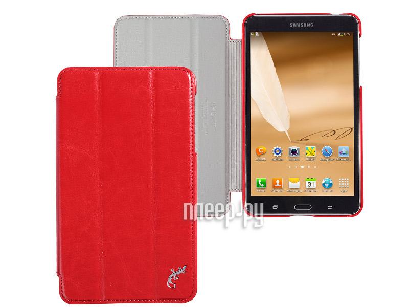 Аксессуар Чехол Samsung Galaxy Tab 4 7.0 G-Case Slim Premium Red GG-341  Pleer.ru  1100.000