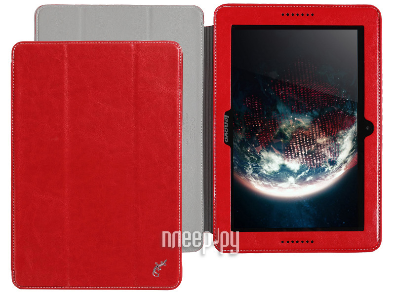 Аксессуар Чехол Lenovo IdeaTab A7600 А10-70 G-Case Executive Red GG-389  Pleer.ru  1149.000