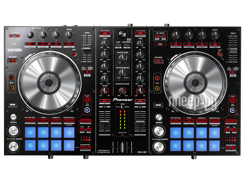 MIDI-контроллер Pioneer DDJ-SR  Pleer.ru  25189.000