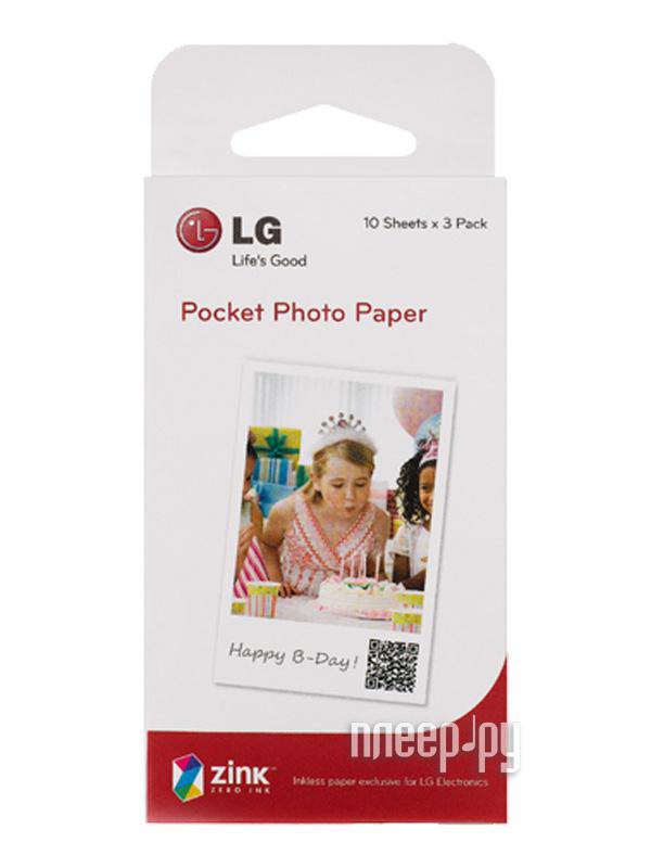 Фотобумага LG A6 PS2203 30листов  Pleer.ru  760.000