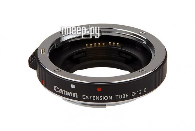 Переходное кольцо Макрокольцо Canon Extension Tube EF12 II*  Pleer.ru  3061.000