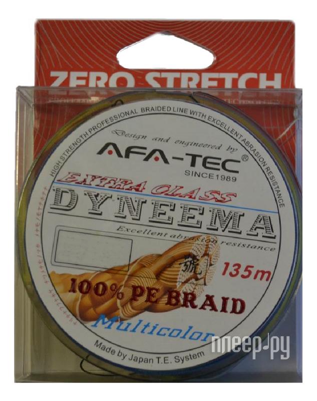 Шнур плетёный AFA-TEC Dyneema PEM20135 135m Multicolor  Pleer.ru  660.000