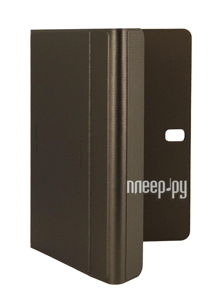 Аксессуар Чехол Samsung Galaxy Tab S 10.5 SM-T800 / SM-T805 Book Cover EF-BT800BSEGRU Bronze  Pleer.ru  2366.000