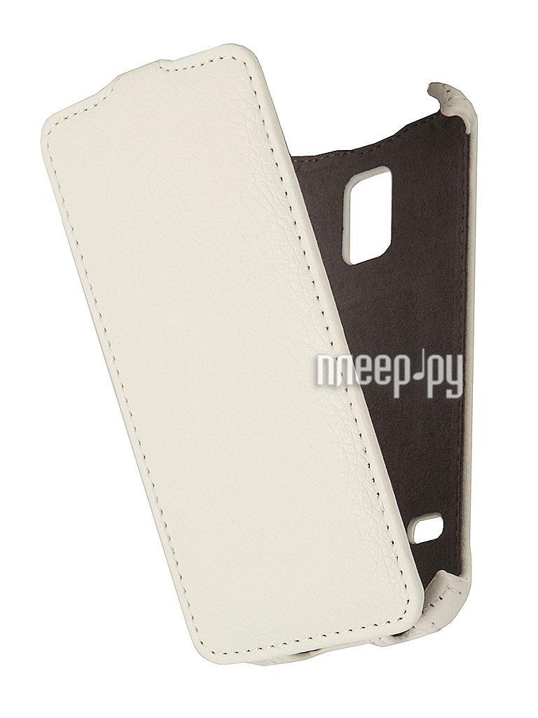 Аксессуар Чехол Samsung SM-G800 Galaxy S5 mini Gecko White  Pleer.ru  1000.000