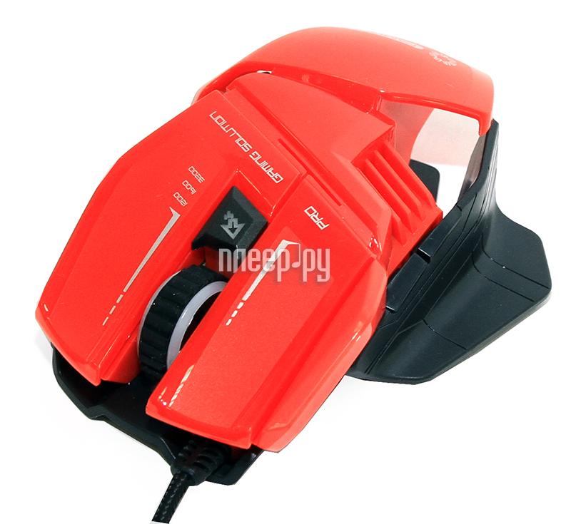 Мышь 5bites CAMPER GM20RD Red USB