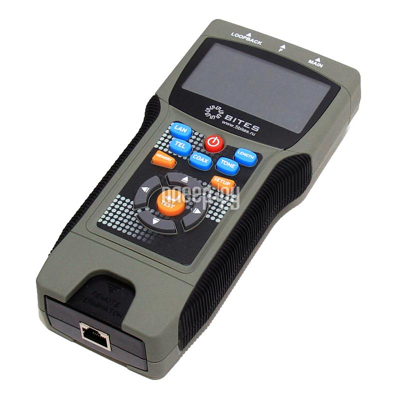 Аксессуар 5bites EXPRESS LY-CT030 PRO тестер кабелей  Pleer.ru  4098.000
