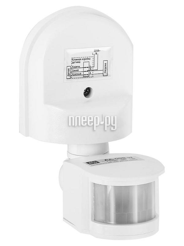 Датчик движения ASD ДД-008-W IP44 White 4680005959709
