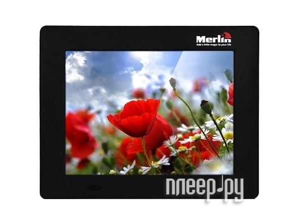 Цифровая фоторамка Merlin7 Digital PhotoFrameBlack  Pleer.ru  4458.000