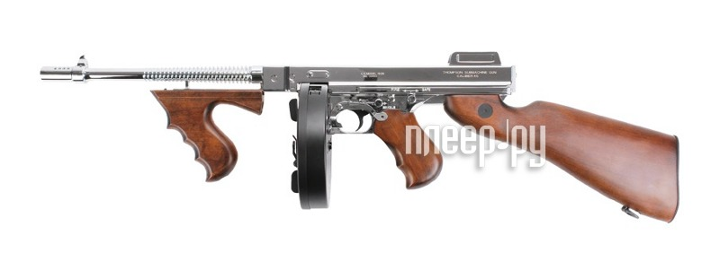 Автомат King Arms Thompson M1928 Chicago Grand Special Silver KA-AG-67-SV  Pleer.ru  16751.000