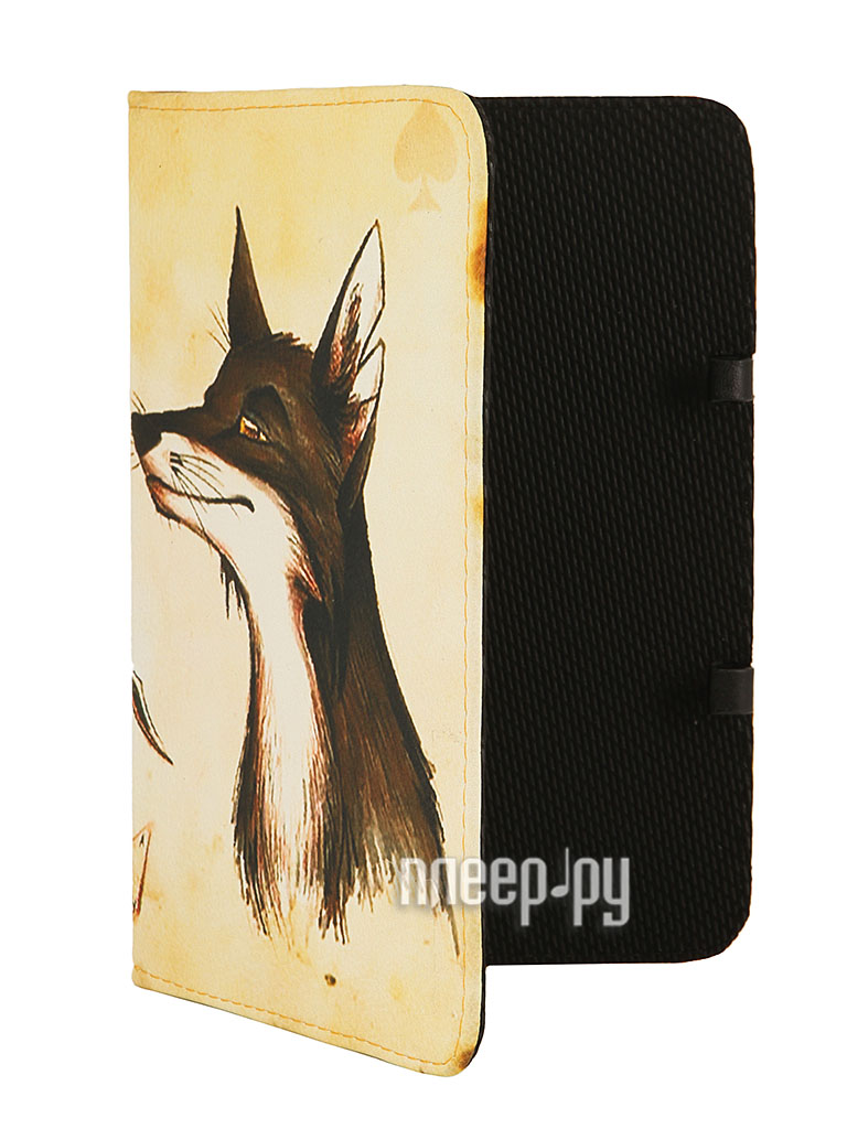 Аксессуар Чехол 7.0 Deko Mobile ArtBook Хитрые лисы A43535  Pleer.ru  939.000