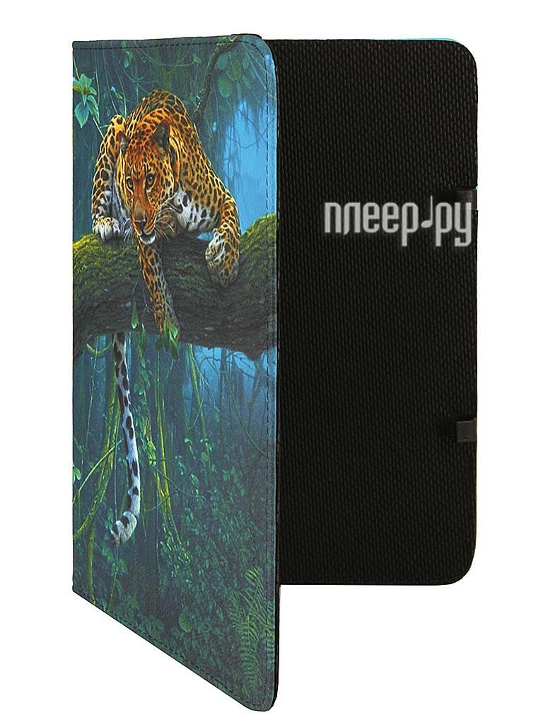 Аксессуар Чехол 10.0 Deko Mobile ArtBook Леопард на дереве A43457  Pleer.ru  1025.000