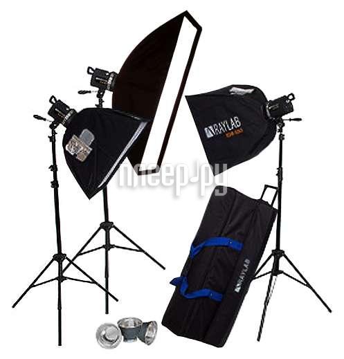 Комплект студийного света Raylab Xenos RH-1000 SSS Creative Kit  Pleer.ru  25498.000