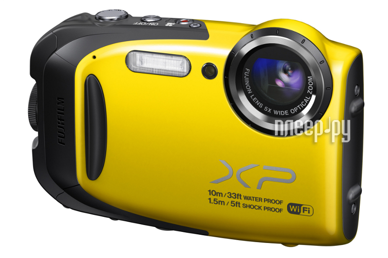 Фотоаппарат FujiFilm FinePix XP70 Yellow  Pleer.ru  6547.000