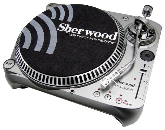 Проигрыватель виниловых дисков Sherwood PM9906 Silver  Pleer.ru  9395.000