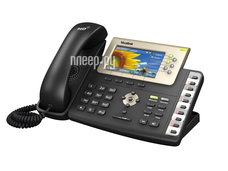 VoIP оборудование Yealink SIP-T38G  Pleer.ru  9379.000
